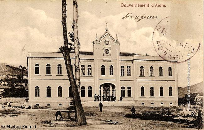 Aïdin, gouvernement, 1908