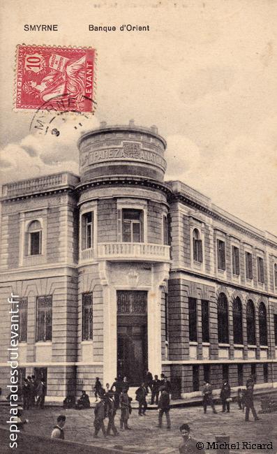 Smyrne, banque d\'Orient