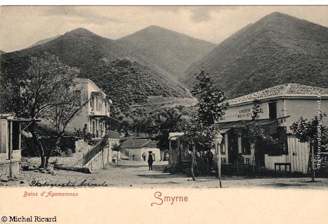 Smyrne, bains d\'Agamemnon