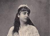 Syrie, jeune femme juive