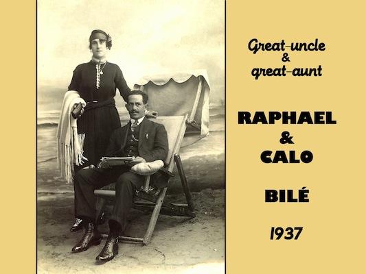 RAPHAEL ET CALO BILE